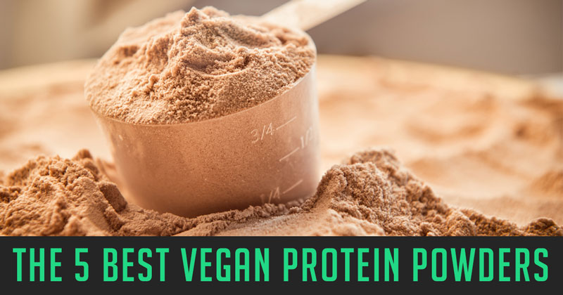 The *TOP 5* Vegan Protein Powders [in the US]