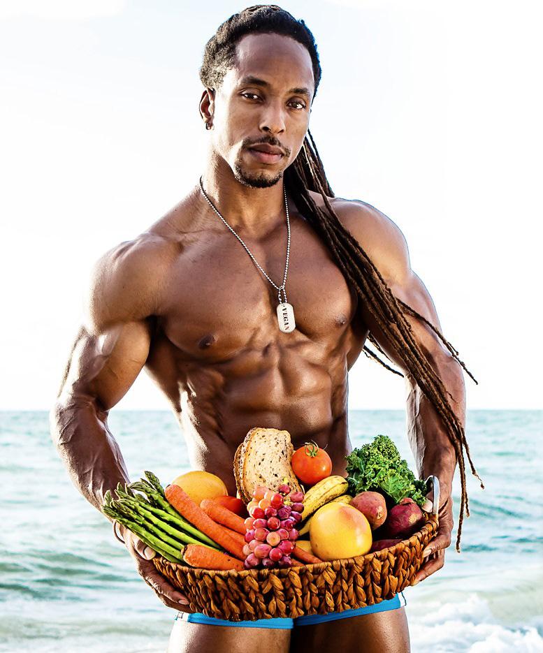 torre washington vegan athlete