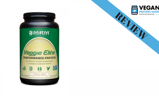 MRM veggie elite vegan protein powder review