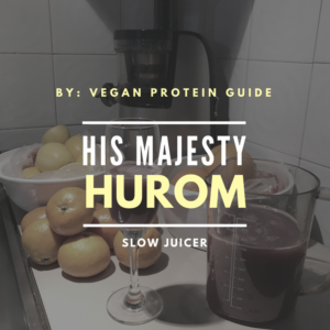 Hurom slow juicer is great for vegans