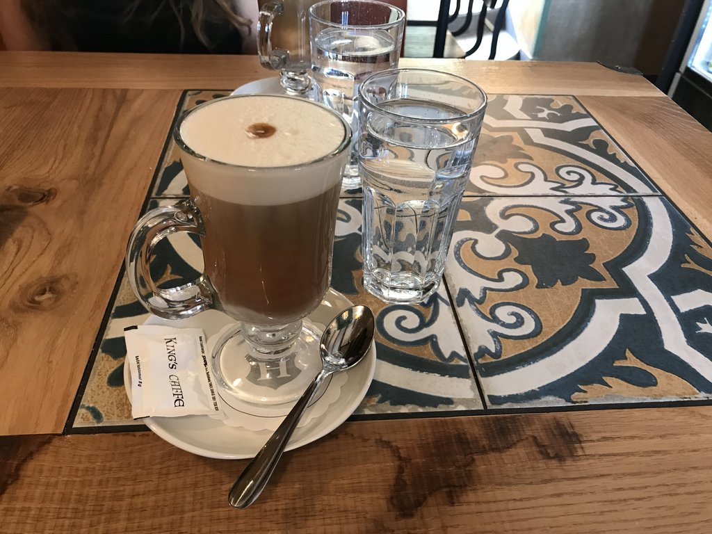 Coffee for vegans in Krk Croatia