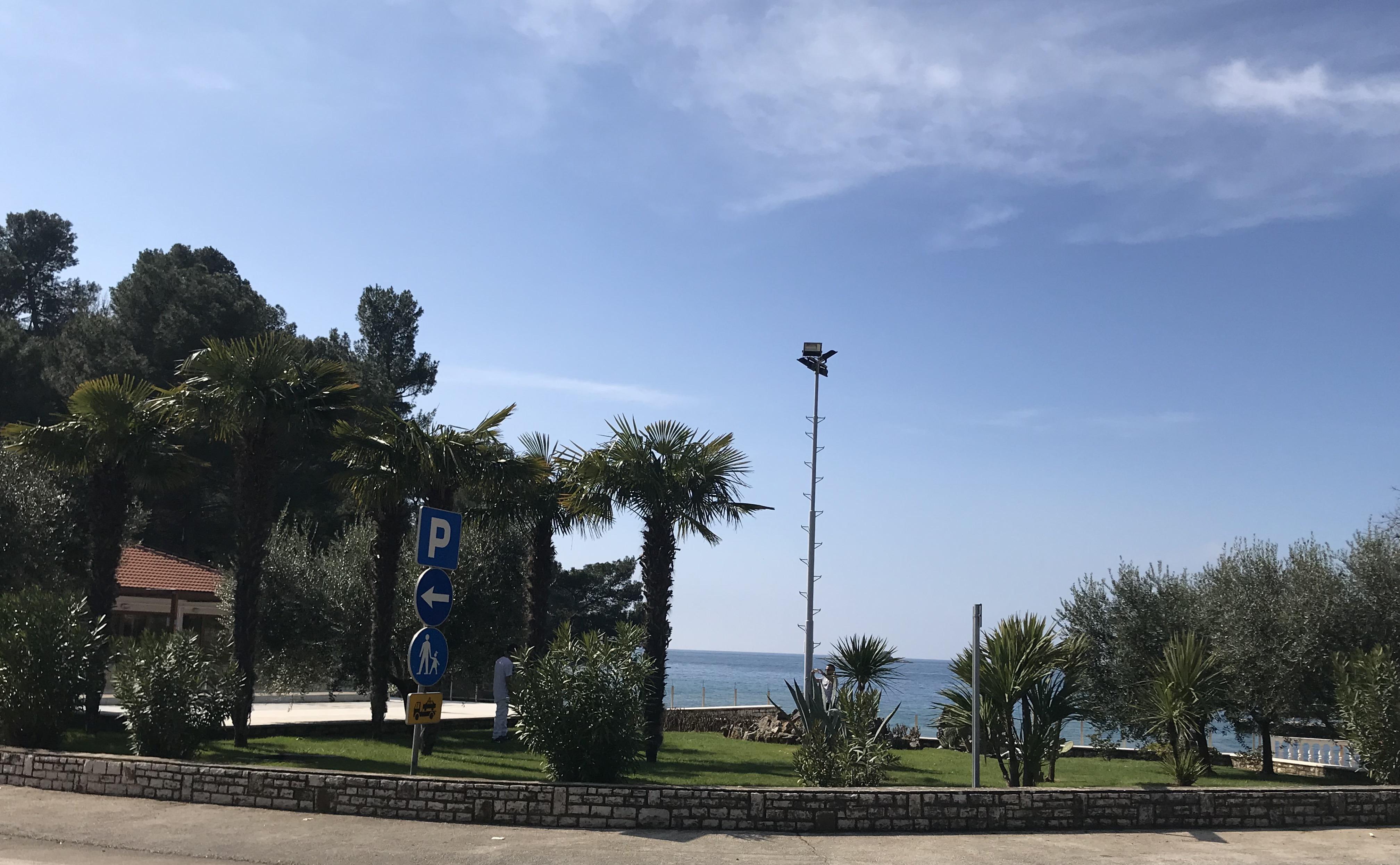 Blue lagoon Porec Istria