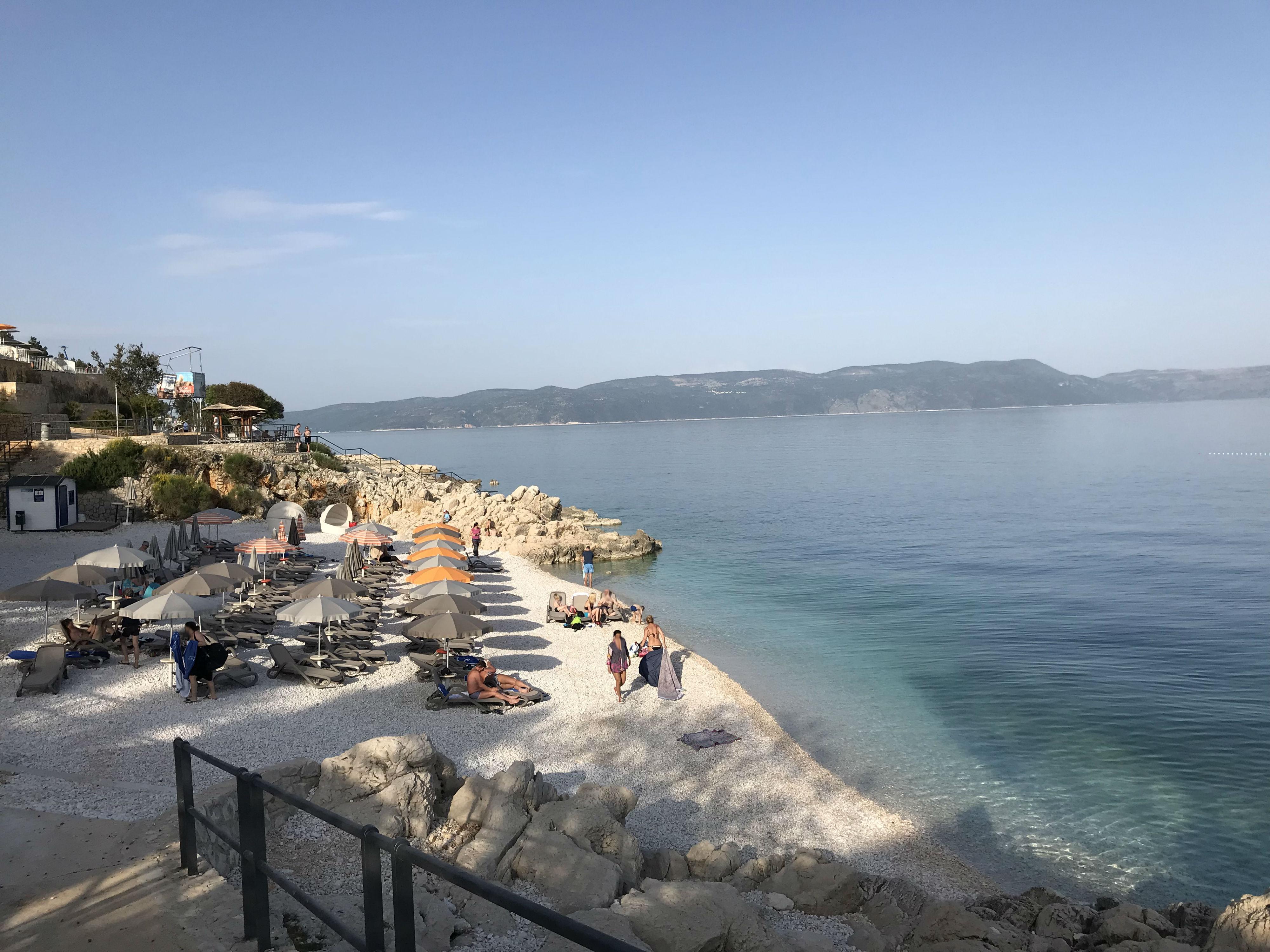 Nice beach Rabac Istria