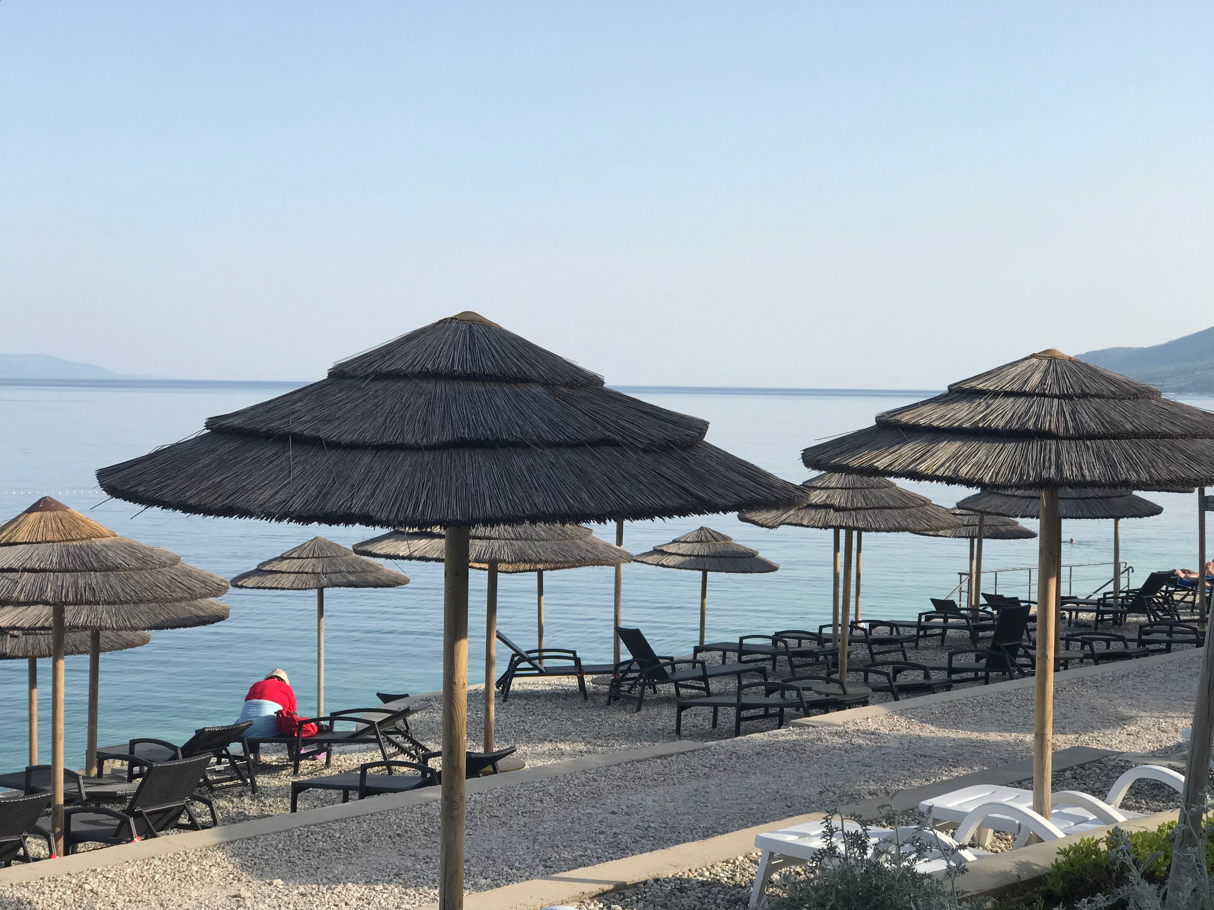 Nice beach in Rabac